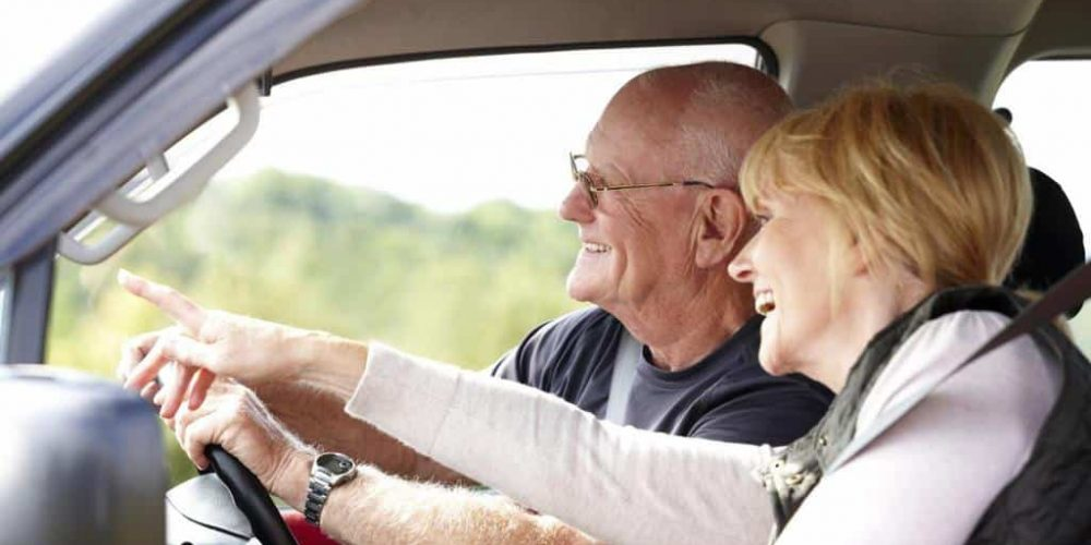 Older Drivers, Elderly Driving, Seniors at the Wheel
