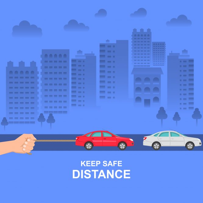 Safe Following Distance 5