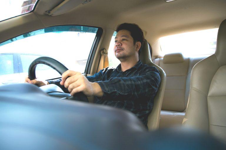 proper driving position