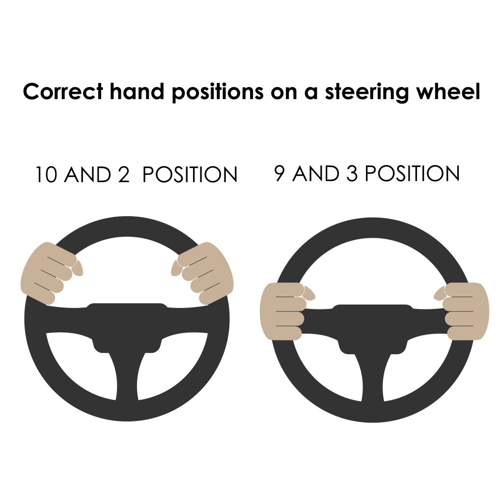 proper driving position step 2