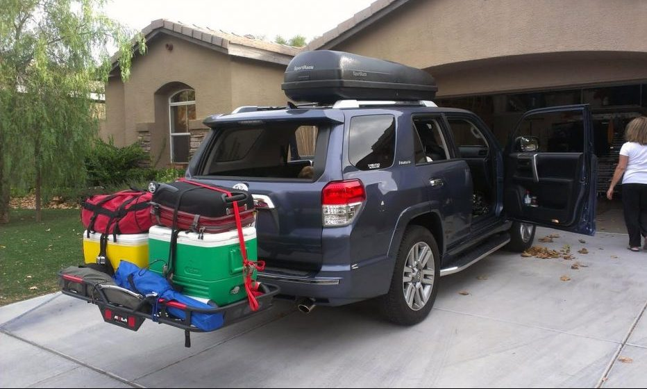 Advantage of Hitch Mount Cargo Carriers For Travel