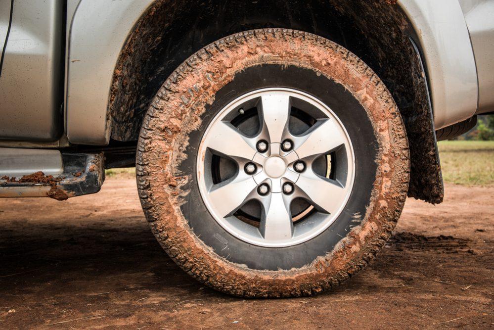 Mud Tires Vs. Street Tires