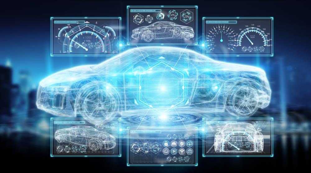 Start of autonomous car research