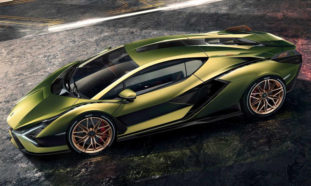 $3.6 Million - Lamborghini Sian 1
