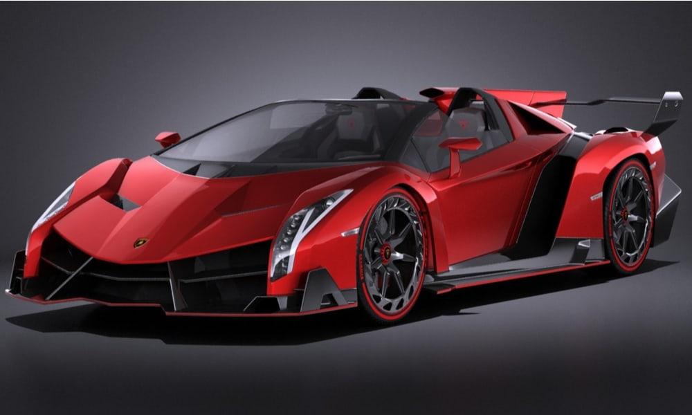 $4.5 Million - Lamborghini Veneno Roadster