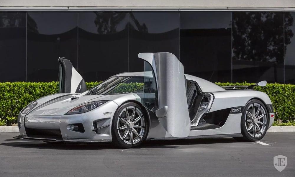 $4.8 Million - Koenigsegg CCXR Trevita