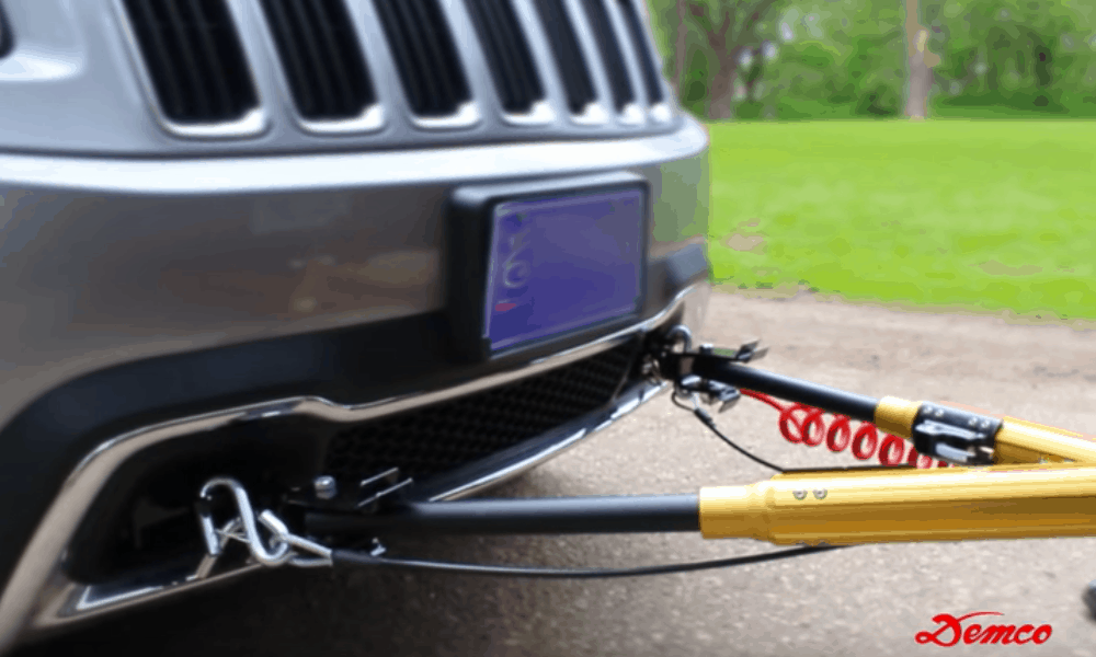 Connect the Tow Bar