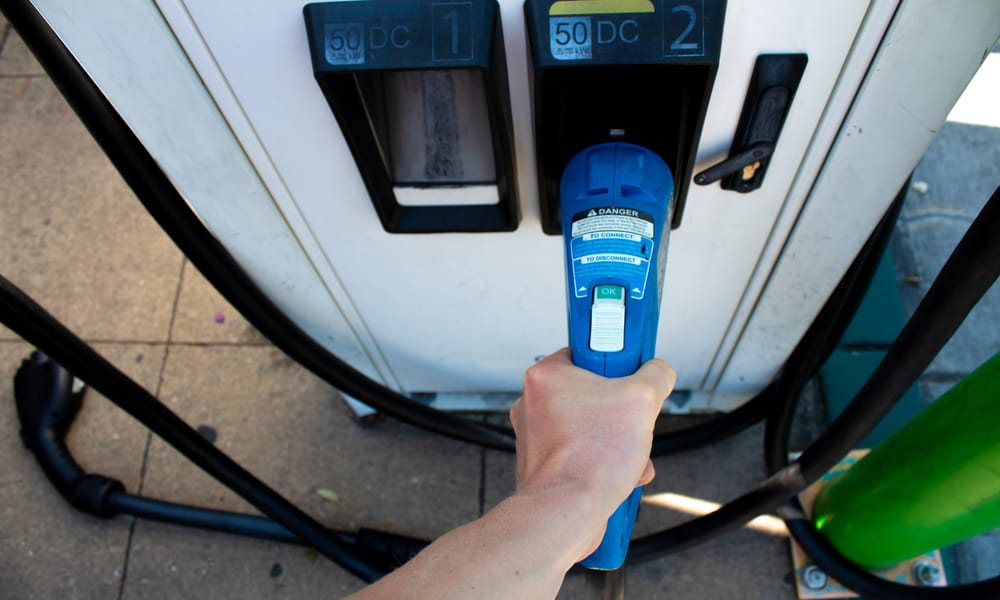 DC fast chargers