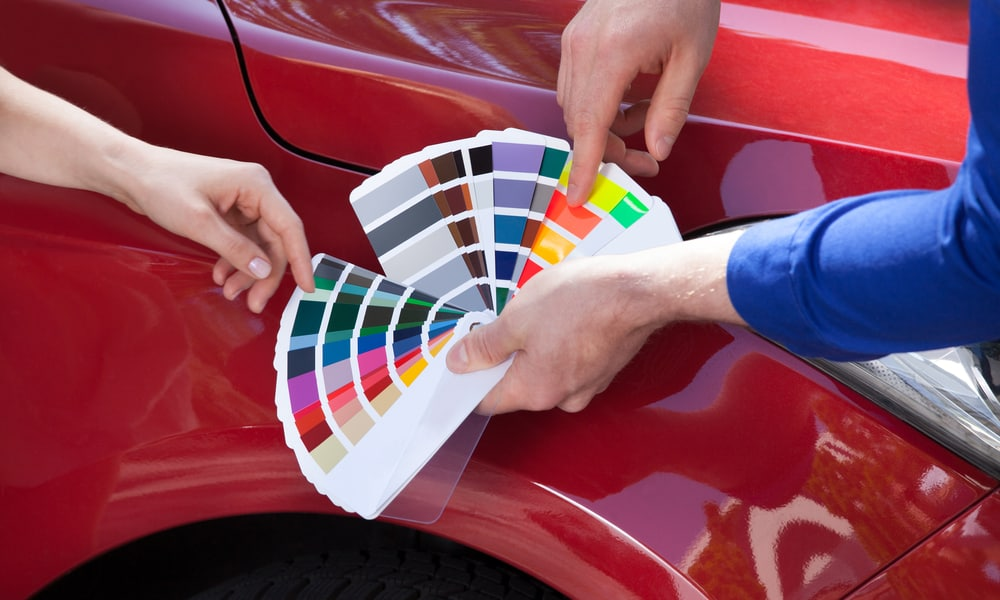 Ensure You Have the Right Hue of Paint for the Touch-Up