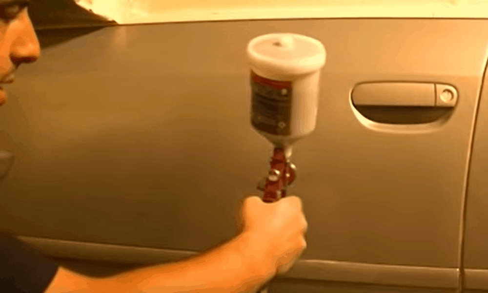 Giving the Car a New Painting