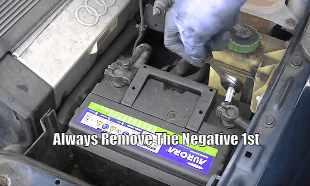 Locate the Negative Unit