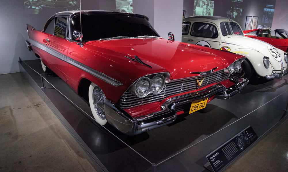 Two Auctioned Christine Cars