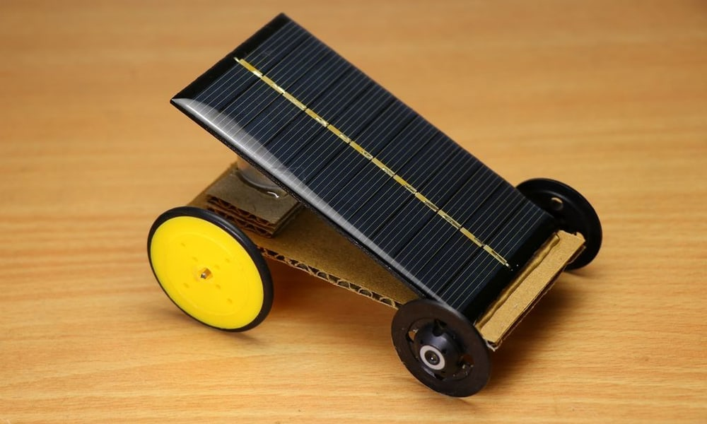 Build a solar-powered car – science project
