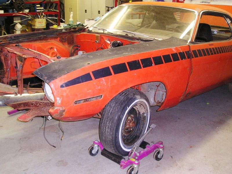 Planning a car restoration