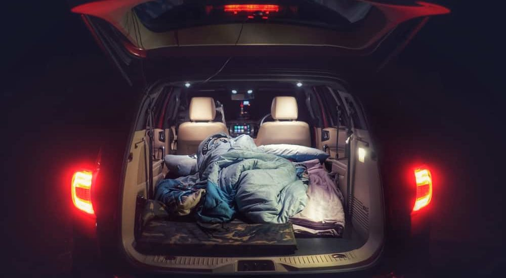 How to sleep in a car