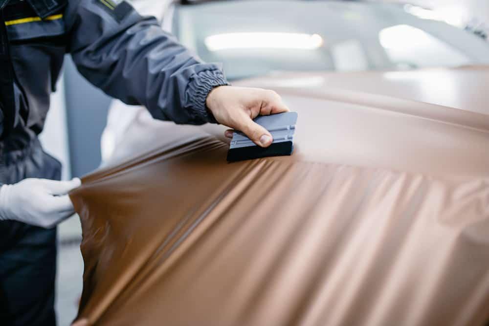 Vinyl-wrap a Car