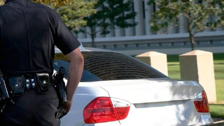 Why do Cops Touch the Back of Your Car