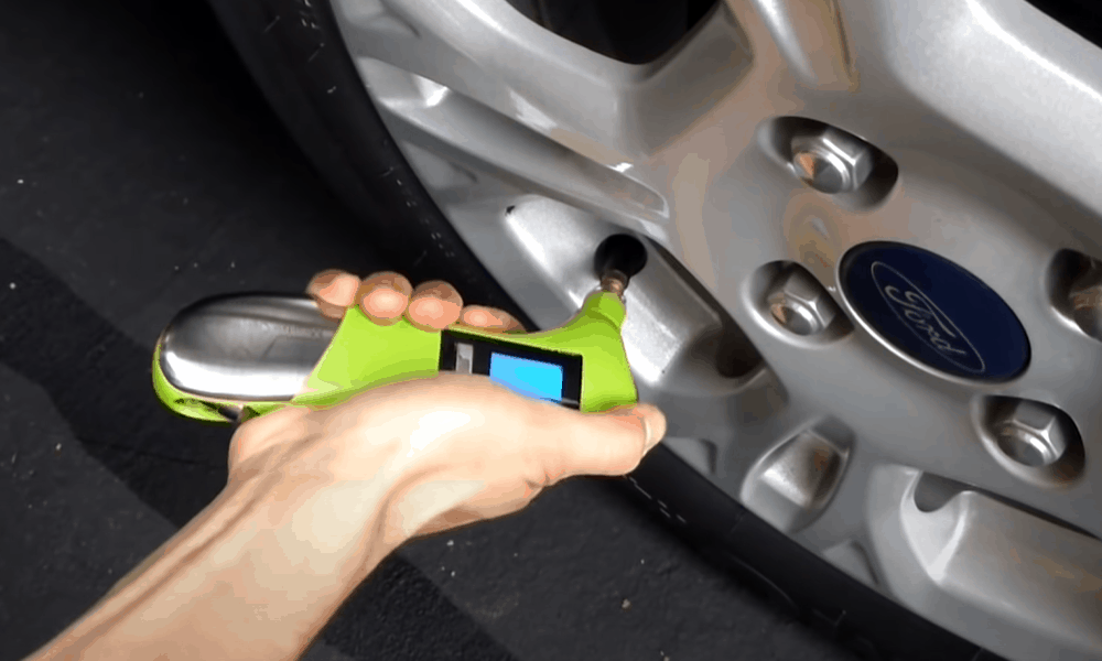 Resetting the Tire Pressure Light