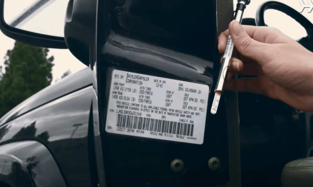 Check the Recommended Tire Pressure for Your Car