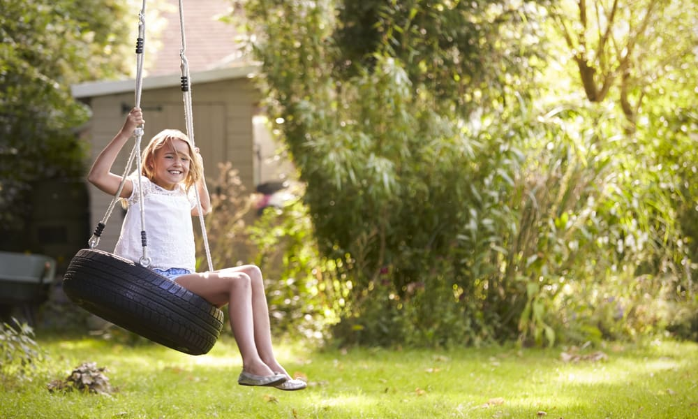 6 Steps to make a Tire Swing