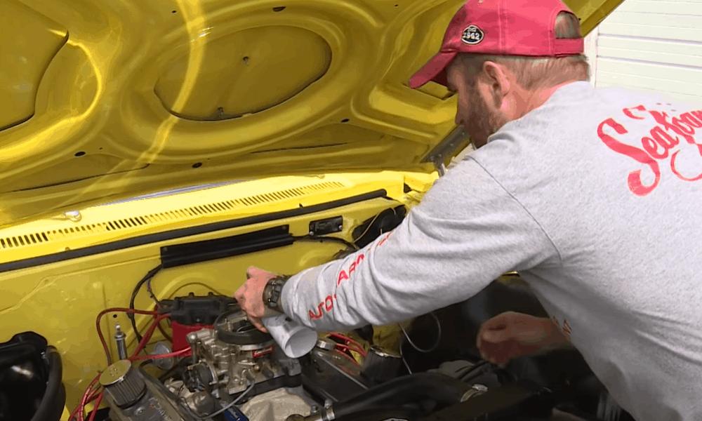 Carburetor External Areas