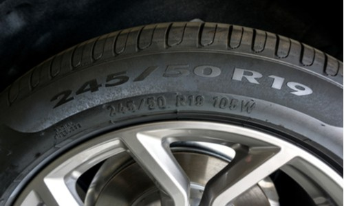 Find out the size of your tire