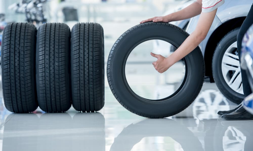 How much does a Tire Weigh