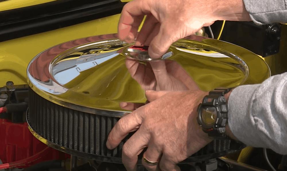 Reach The Car's Carburetor