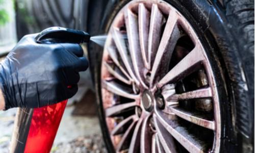 Clean the wheels