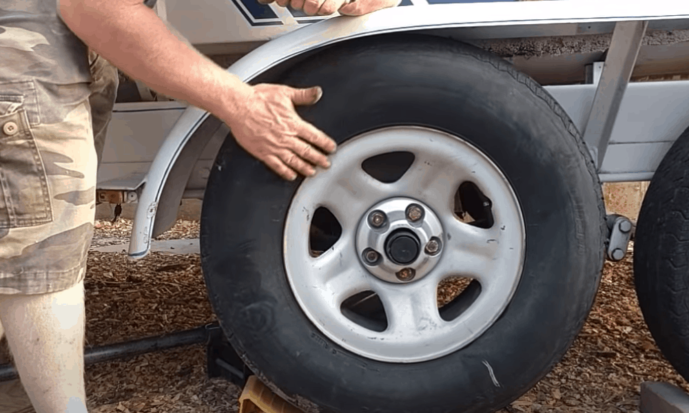 Lift the car, remove wheels and clean them