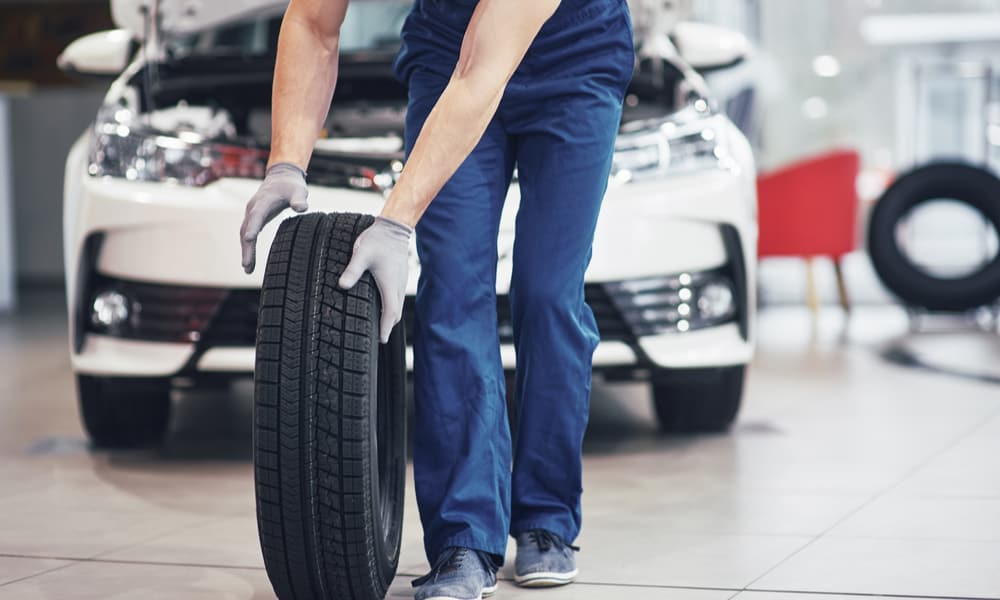 Low tire pressure reduces the tire's life