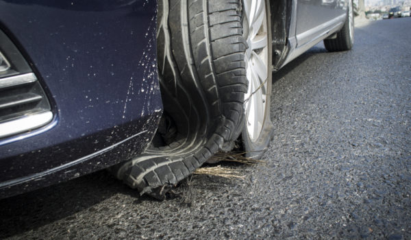 What Should You Do If You Have A Tire Blowout?