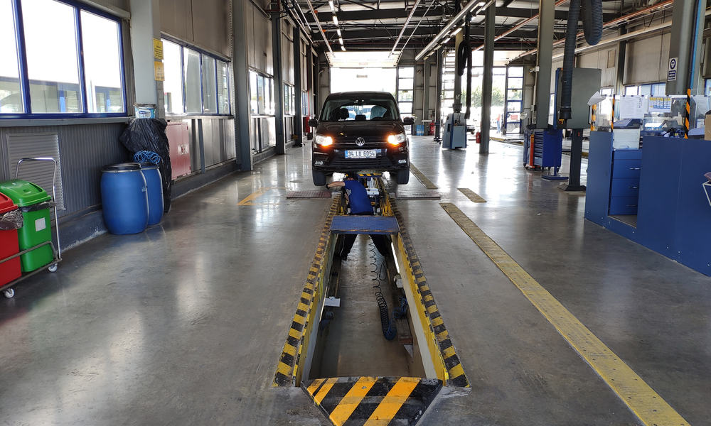 Safety inspection before selling a car