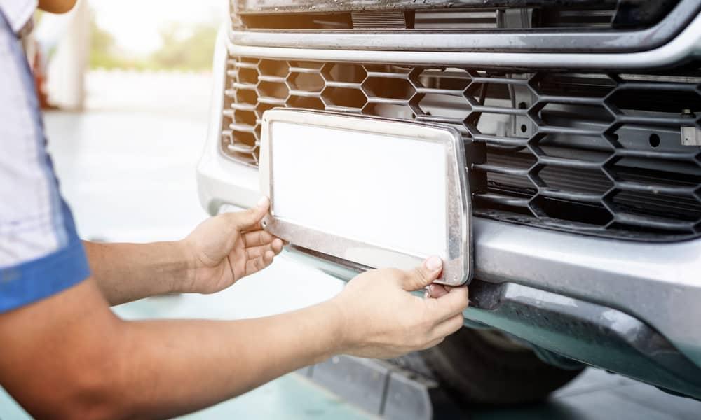Vehicle plate fee